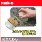 レンガ、ブロック、石畳などの隙間用 雑草たわし AG-2500【代引き不可商品】