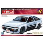 アオシマ プラモデル 1/24 Sパッケージ バージョンR No.040 TRD AE86トレノ N2仕様