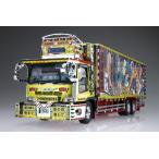 アオシマ プラモデル 1/32 バリューデコトラ Vol.34 二代目髑髏丸 大型冷凍車