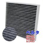 エアコンフィルター ベルタ KSP92 NCP96 SCP92 用 SCF-1012A トヨタ 活性炭入 車 車用エアコンフィルター エアコン フィルター交換 交換フィルター
