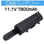 ショッピングノートパソコン ノートパソコンバッテリー Dell Inspiron 312-0940 J415N K450N 1440 1750 対応 ノートパソコンバッテリー 互換バッテリー  9cells 11.1V 7800mAh ブラック