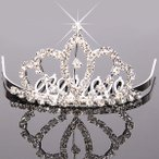 Yahoo! Yahoo!ショッピング(ヤフー ショッピング)アーク王冠 ヘアピン クラウン ミニティアラ ミニ ウエディング ブライダル アクセサリー ティアラ
