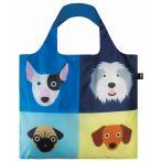 エコバッグ ローキー LOQI ブランドエコバッグ 犬 イヌ DOG メール便で送料無料 合計3個購入につきプレゼントあり