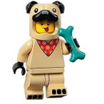 レゴ LEGO ミニフィギュアシリーズ21:Pug Costume Guy:パグコスチュームマン