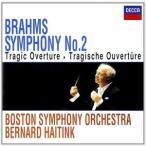 べルナルト・ハイティンク、BSO/ブラームス:交響曲 第2番、悲劇的序曲(CD)