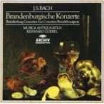 J.S.バッハ:ブランデンブルク協奏曲全曲(CD)
