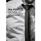 the HIATUS/「Jive Turkey vol.1 Live at Blue Note Tokyo 2016 and Tour Documentary」(DVD)