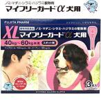 送料無料  マイフリーガードα 犬用XL スポット剤 3本入 *フジタ製薬 40-60kg未満