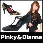 パンプス ハイヒールパンプス Pinky&Dianne ピンキー&ダイアン 黒パンプス リーガル社製