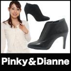 ショッピングブーツサンダル ブーツ ハイヒールブーツ Pinky&Dianne 黒ブーツ リーガル社製