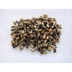 ガラスビーズ(S) 竹ビーズ 2.5x2mm メタリックゴールド 約300個
