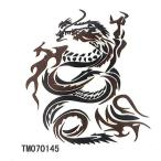 タトゥーシール龍・ドラゴン 【6x6cm ハロウィン 仮装コスプレ・tm070145】