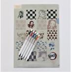三菱鉛筆 ユニボールワン お好みカラー5本パック 鬼滅の刃オリジナルクリアファイルプレゼント メール便発送対応品