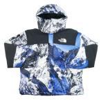 シュプリーム SUPREME ×THE NORTH FACE 17AW Mountain Baltoro Jacket バルトロジャケット 白青 Size【S】 【新古品・未使用品】