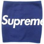 シュプリーム SUPREME 15AW Fleece Neck Gaiter ネックウォーマー 紺 Size【フリー】 【中古品-良い】【中古】