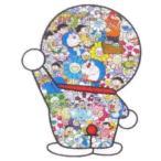 MURAKAMI TAKASHI 藤子F不二雄先生とドラえもんがお花畑に居る 3枚セット/版画 ED300 マルチ Size【フリー】 【新古品・未使用品】