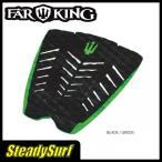 ブラック×グリーン FAR KING(ファーキング)DECKPAD BRENT DORRINGTON ブレント・ドリントン デッキグリップトランクション デッキパッド サーフィン
