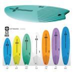 ショッピングサーフ 送料無料/OCEAN&EARTH(オーシャンアンドアース)ソフトボード 7'6フィッシュテール/OE EZI-RIDER 7'6 イージー ライダー/練習用/サーフィン/マリンスポーツ