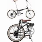 ショッピング自転車 DAHON(ダホン) 折りたたみ自転車 Boardwalk D7 ボードウォーク グラファイトグレー