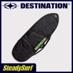 ハードケース DESTINATION DS V-CUT DAY TRAVEL/Vカット デイトラベル フィッシュ&WIDES 6'0 ブラック ディスティネーション/サーフィン
