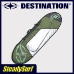 ショッピングサーフ ハードケース DESTINATION DS DELAX DAY TRAVEL/デラックスデイトラベル ファンボード 7'6 SIL/グリーン ディスティネーション/サーフィン