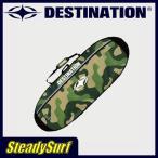 ショッピングサーフ 2本収納/ハードケース DESTINATION DS EX-TACO DOUBLE/タコ ダブル 6'6/カモ柄/迷彩 ディスティネーション/サーフィン