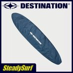ショッピングサーフ あすつく/値下げ特価/ディスティネーション(DESTINATION)US NATURAL DECK COVER デッキカバー/ネイビー/インナーケース 8'0〜10'0 ロング/LONG/サーフィン