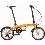 ショッピング自転車 DAHON(ダホン) 折りたたみ自転車 EEZZ D3 イエローサンライズ