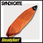 あすつく/ソフトケース SYNDICATE SC Mesh Case 6'0〜6'4 オレンジ メッシュケース ショート/シンジゲート/サーフィン/デッキカバー/ボード/ケース