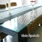 アジアン ダイニングテーブル ウォーターヒヤシンス 幅150cm