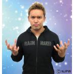 大きいサイズ メンズ 新日本プロレス オカダ・カズチカ「RAINMAKER DOLLAR」パーカー