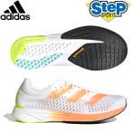 アディダス ランニングシューズ アディゼロ プロ FY0098 ホワイト/オレンジ adidas ADIZERO PRO メンズ レディース くつ 運動靴 21SS rsadidas