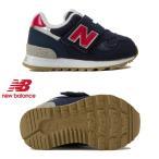 ニューバランス キッズシューズ IO313 NV ネイビー/レッド(NAVY/RED)new balance スニーカー ベビー 子供靴 ジュニア くつ 紺 IO313-NV NB 19FW