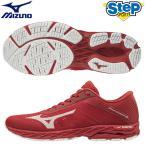 ミズノ ランニングシューズ ウェーブシャドウ 3 ワイド J1GC192707 レッド(RED) mizuno WAVE SHADOW 3 WIDE メンズ 靴 赤