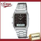 ショッピングCASIO CASIO カシオ 腕時計 アナデジ AQ-230A-1 【メール便選択で送料200円】