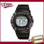 ショッピングCASIO CASIO カシオ 腕時計 SPORTS GEAR スポーツギア  デジタル W-S200H-1B 【メール便選択で送料200円】