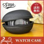 Watch Case - 【あすつく対応】JENESY 腕時計 収納ケース エンボス加工 ブラック・カモフラージュ 1本 ケース