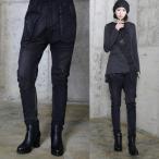 秋新作 レディース パンツ デニム ジーンズ モード系 個性的 40代 ファッション