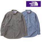 ショッピングNORTH THE NORTH FACE PURPLE LABEL nanamica ザ ノースフェイスパープルベル Cotton Polyester Broad Check Big Shirt NT3806N シャツ