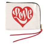 HOUSE INDUSTRIES POUCH SMALL LOVE ポーチ 小物入れ ハウスインダストリーズ