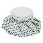Lovoski 再利用可能 家庭常備品  アイスバッグ 氷嚢 痛み緩和 スポーツ傷害 頚部 膝 頭 救急処置 全2色3サイズ選ぶ - ホワイト+グリーン, 9インチ