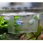 水槽用 プラスチック  観賞魚 ダブル 孵化場 稚魚 繁殖ボックス  アイソレーシション ボックス インキュベーター 高品質 耐久性