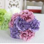 人工シルクフラワーカーネーションの花束の結婚式の家の装飾ブルーピンク