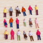 【ノーブランド品】約100体セット 人形  鉄道模型・ジオラマ・建築模型・電車模型に  19mm スケール:1/100