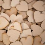 SONONIA セール お買い得 100個 素朴な 結婚式の装飾 6センチメートル 木製のハート 木の切り クラフト
