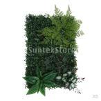 Kesoto 5本 人工葉植物 壁装飾 人工植物 芝生 結婚式会場 道路 装飾