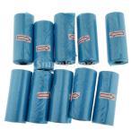 携帯用 おむつ処理袋 おむつ廃棄バッグ ボックス ディスペンサーホルダー 10個 ゴミ袋