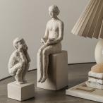 6ピースキャラクター像置物エントランスオフィス本棚工芸品の装飾