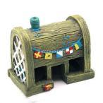 【ノーブランド 品】魚 水槽 装飾 アンティーク 樹脂 飾り 城 家の洞窟