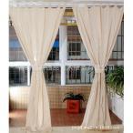 180x180cm 中空 かぎ針編み 窓 カーテン ドレープ パネル タブ トップ